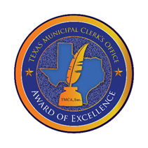 Municipal Clerk Award of Excellence logo